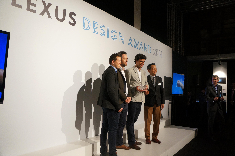 Ooho Lexus Design Award 2014 Milan News